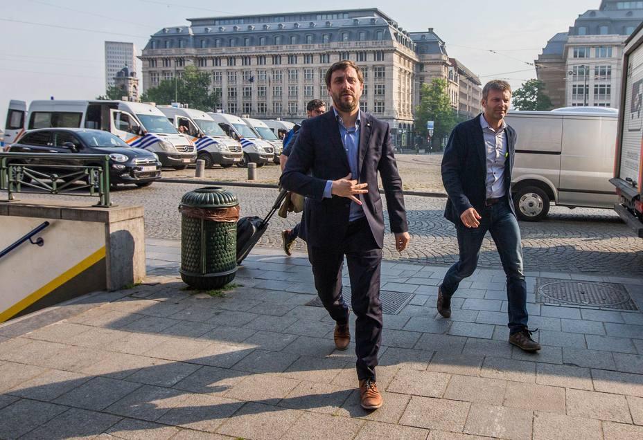 Bélgica rechaza entregar a los exconsejeros catalanes fugados