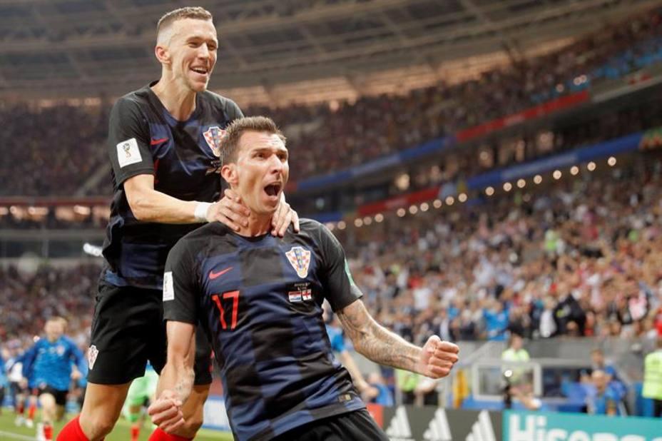 Perisic y Mandzukic, protagonistas de la clasificación histórica de Croacia para la final del Mundial