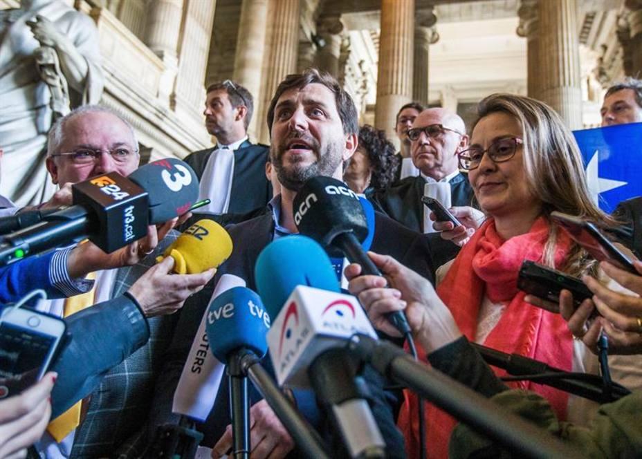 El Supremo acusa a la justicia de belga de falta de compromiso