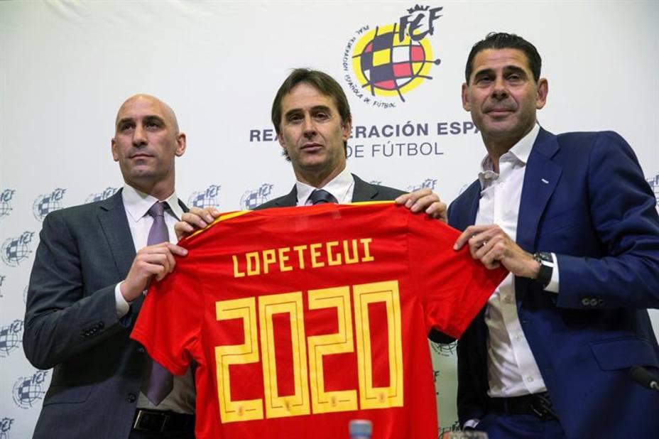 Julen Lopetegui había renovado con la selección pero será el nuevo entrenador del Real Madrid