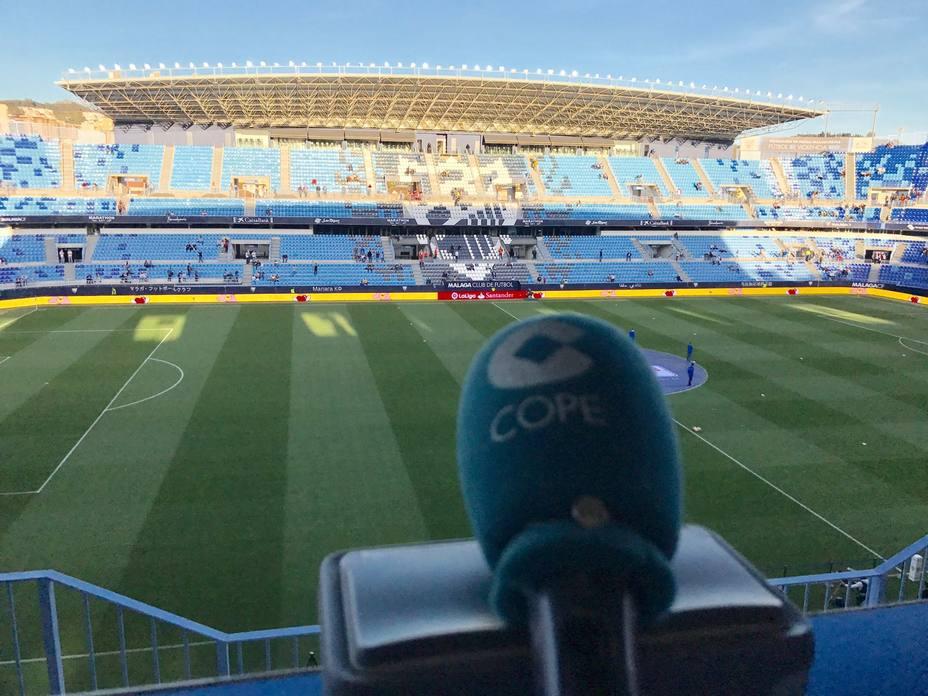Directo: Málaga, 0  Real Madrid, 0