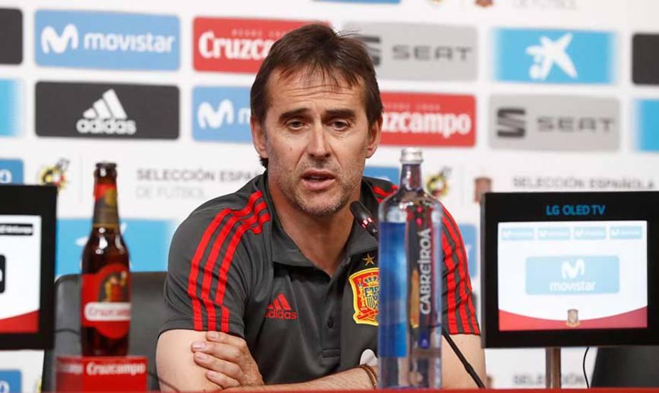 Julen Lopetegui será el entrenador del Real Madrid para las tres próximas temporadas
