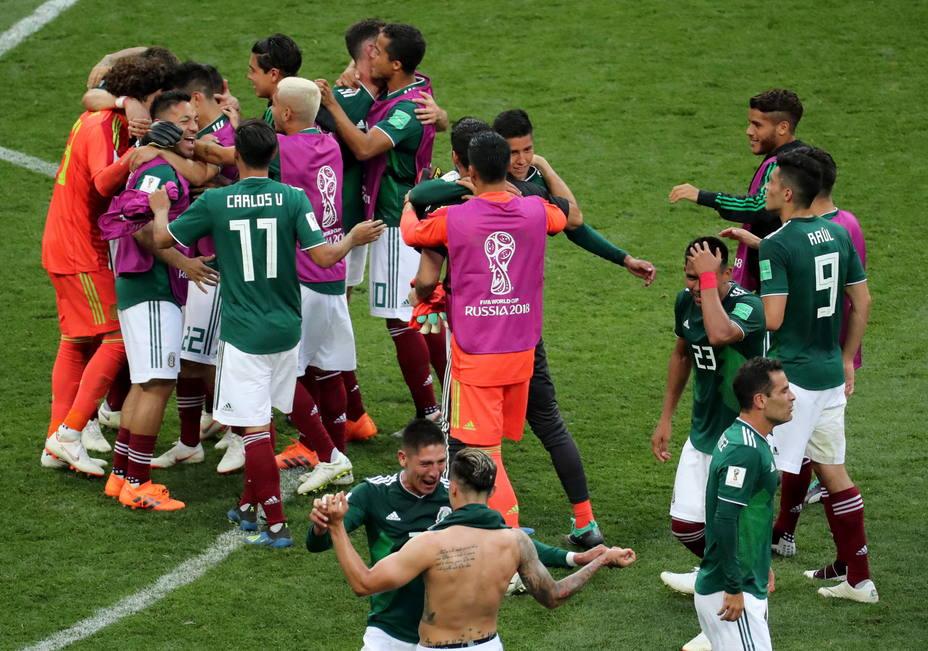 Campanada de México ante Alemania