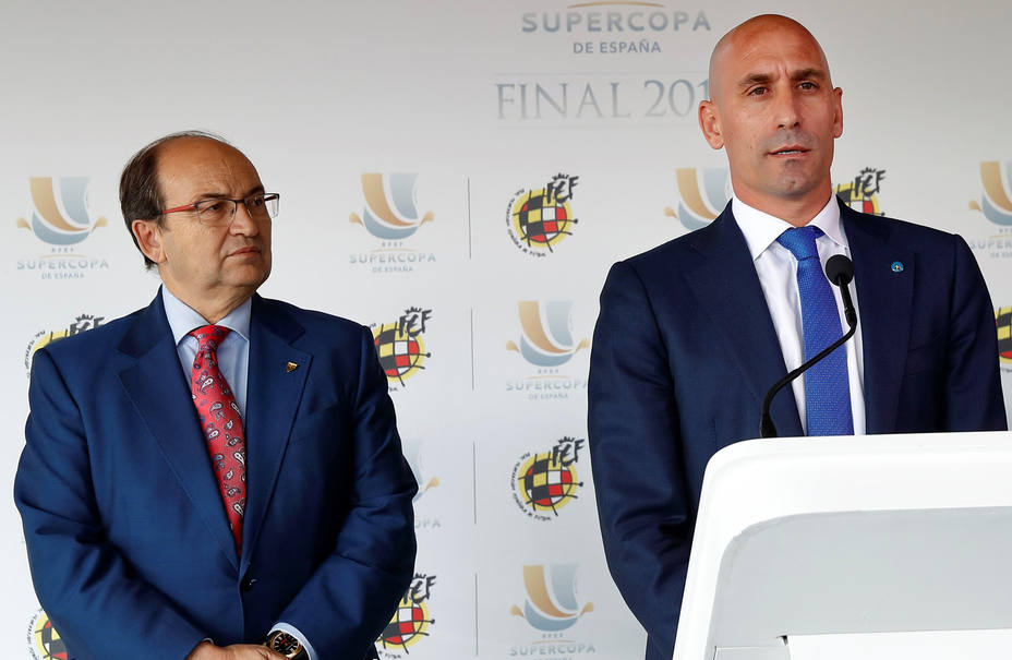 Radio en estado puro: Luis Rubiales y Pepe Castro llaman a El Partidazo de COPE y se enfrentan por la Supercopa de España