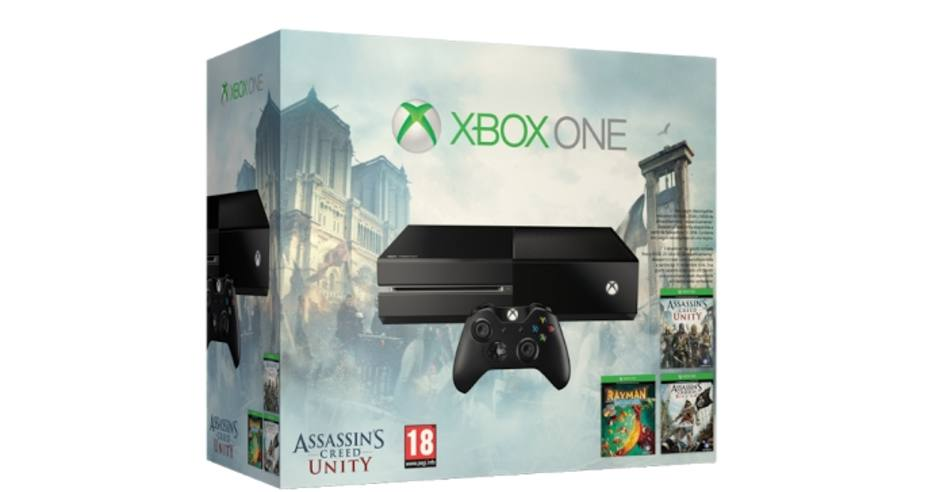 """Pack Xbox One 500GB con """"Assassin's Creed"""""""