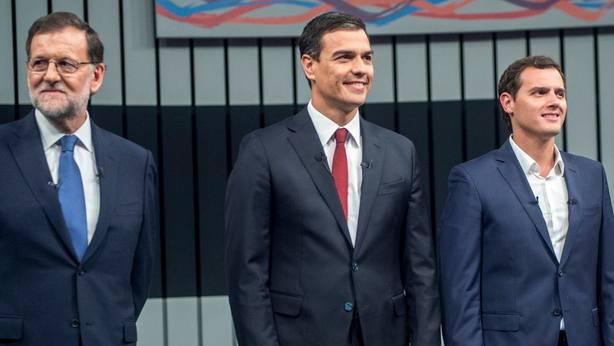 Rivera pide a PP y PSOE seguir juntos aplicando el 155 en Cataluña