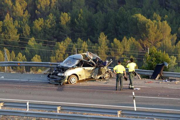 Accidente tráfico en España