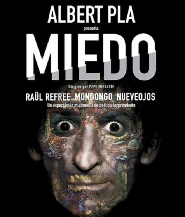 Albert Pla inicia la presentación por toda España de Miedo, su nuevo espectáculo