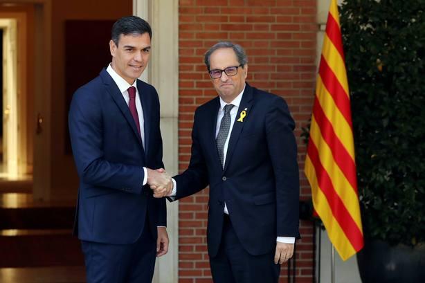Torra desprecia a Sánchez y descarta la reunión anunciada por Moncloa