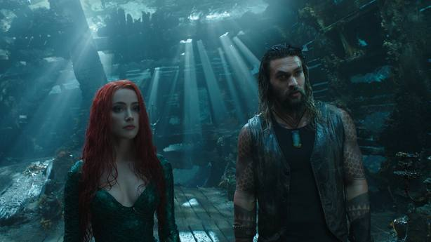 Aquaman mantiene el liderato de la taquilla española en su pulso con Bohemian Rhapsody