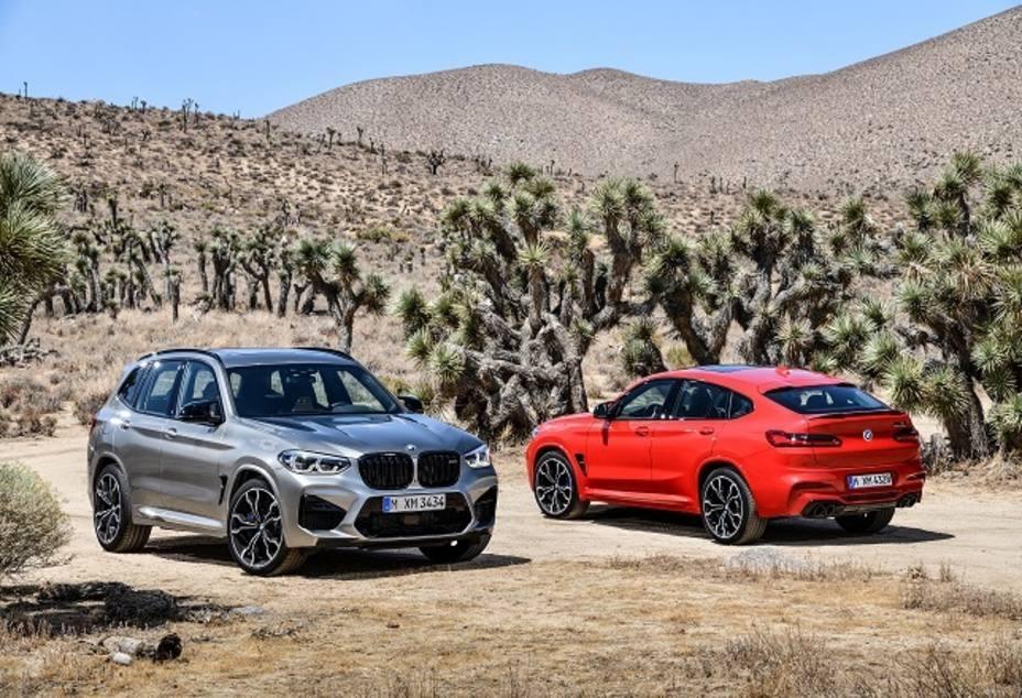 BMW amplía su gama de modelos de altas prestaciones con los nuevos X3 M y X4 M