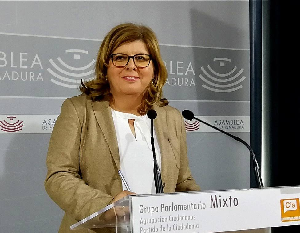 Maria Victoria Dominguez, cabeza de lista de Ciudadanos por la provincia de Caceres