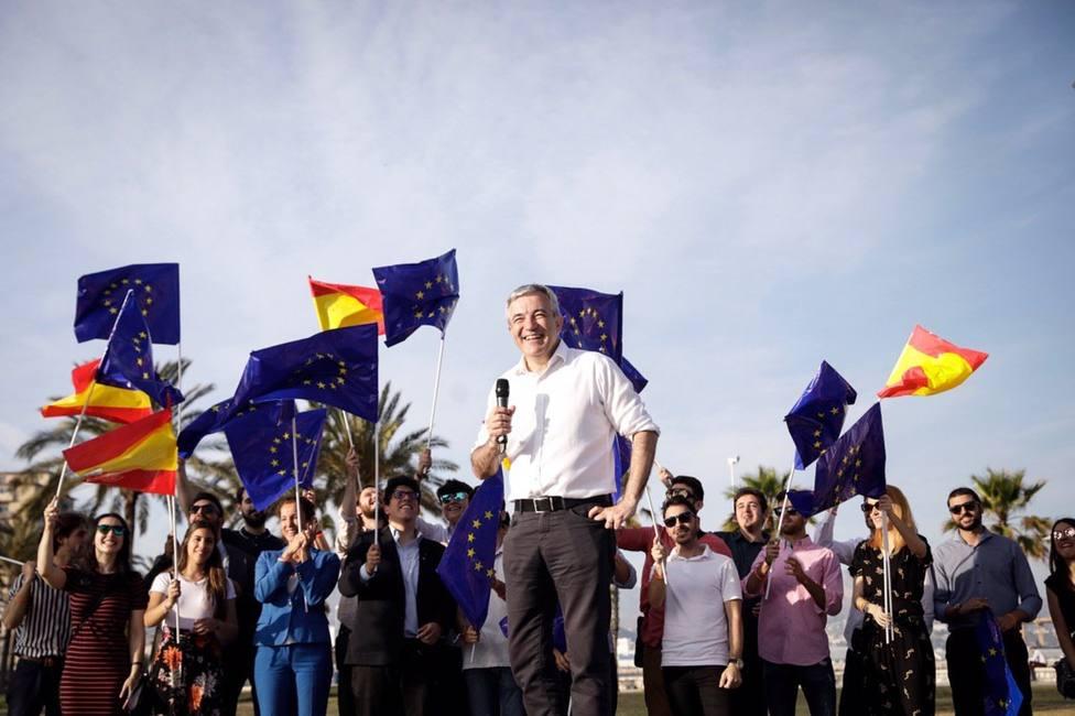 Garicano critica que ayudas europeas con partidos tradiciones se quedan sin gastar y Cs eso no lo va a permitir
