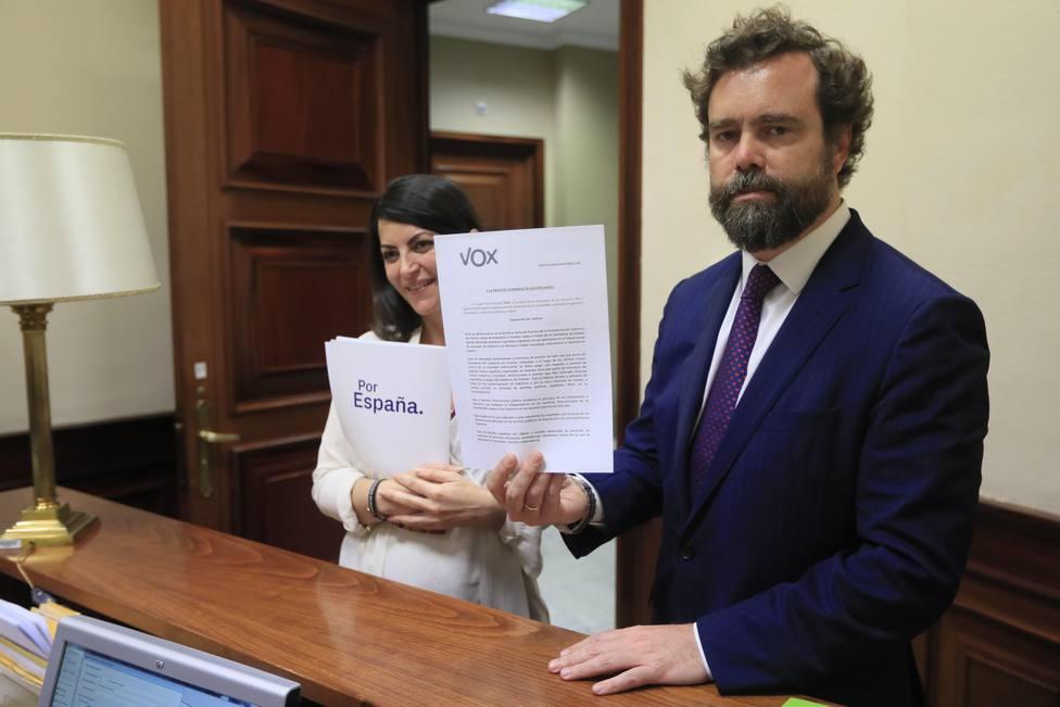 Vox pide a Sánchez que ataje la injerencia francesa en la política española