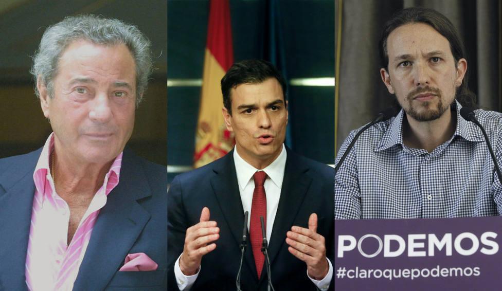 Las contundentes palabras de Arturo Fernández sobre Pablo Iglesias y Pedro Sánchez que se han hecho virales