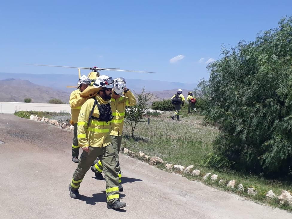 Desciende a nivel 1 el Plan de Emergencias por Incendios Forestales activado en Terque (Almería)