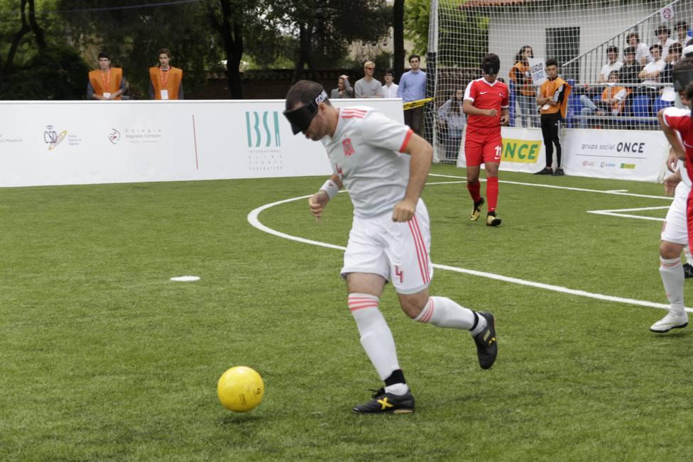 La selección española de fútbol para ciegos afronta un torneo amistoso antes del Europeo