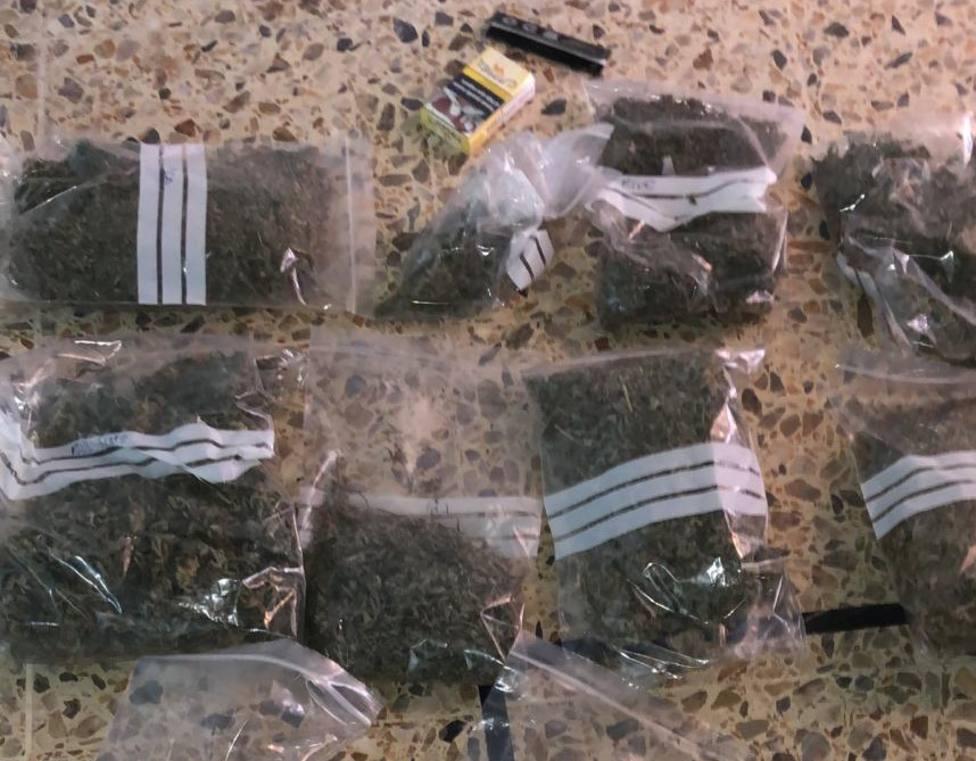 Marihuana incautada por la Policía
