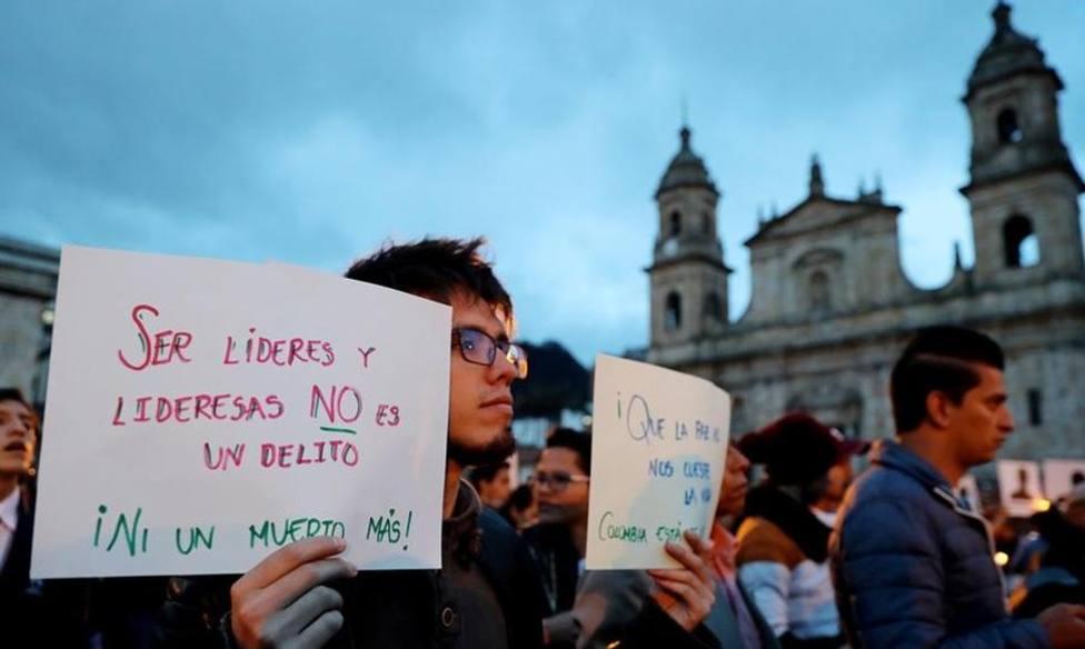 La ONU exige acciones efectivas al Gobierno de Colombia para frenar el asesinato de líderes sociales