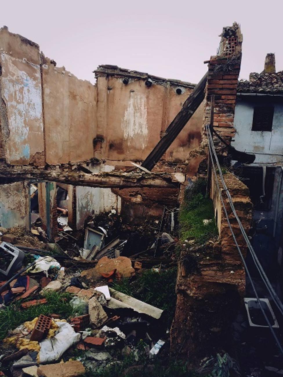 Sorprendente actuación del Ayuntamiento de Calahorra en la parte más deteriorada de su casco viejo