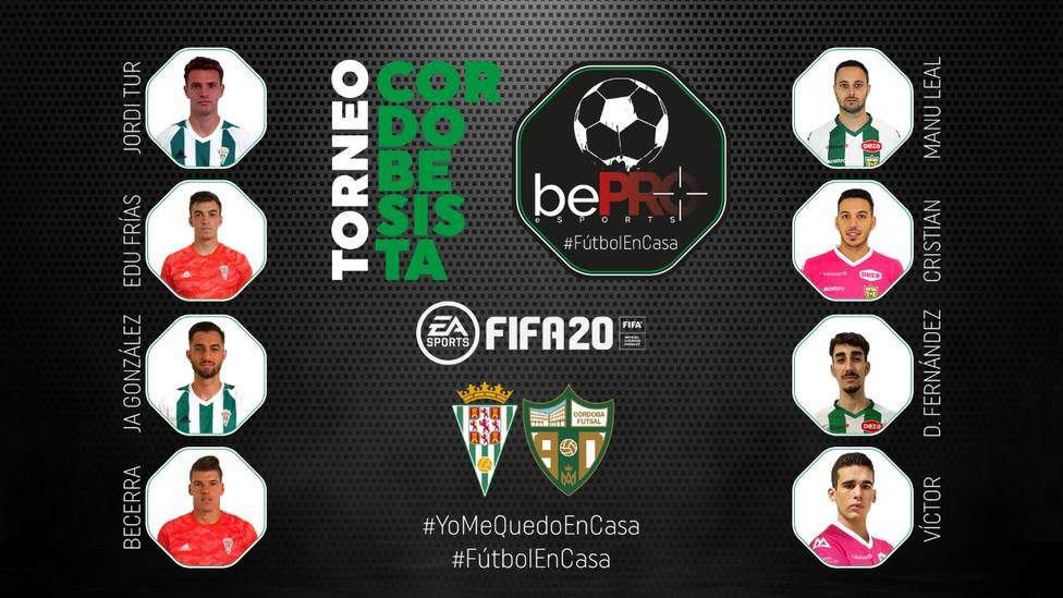 Los jugadores de Córdoba C.F. y Córdoba Patrimonio de la Humanidad se retan a través de sus videoconsolas