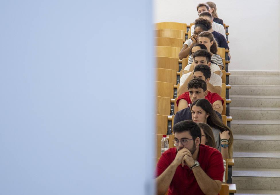 Los estudiantes reprochan a Celaá que la decisión de aplazar la Selectividad se haya tomado sin ellos