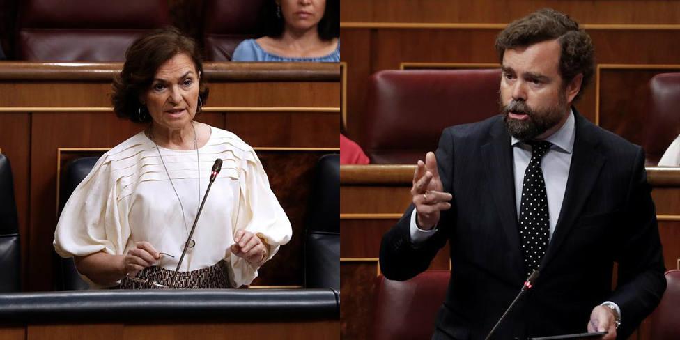La desconcertantes palabras de Calvo que sorprenden a Espinosa de los Monteros: Pues estamos de acuerdo