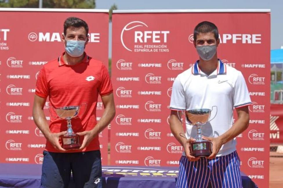 Carlos Alcaraz conquista el torneo de la Liga Mapfre Valor en Villena