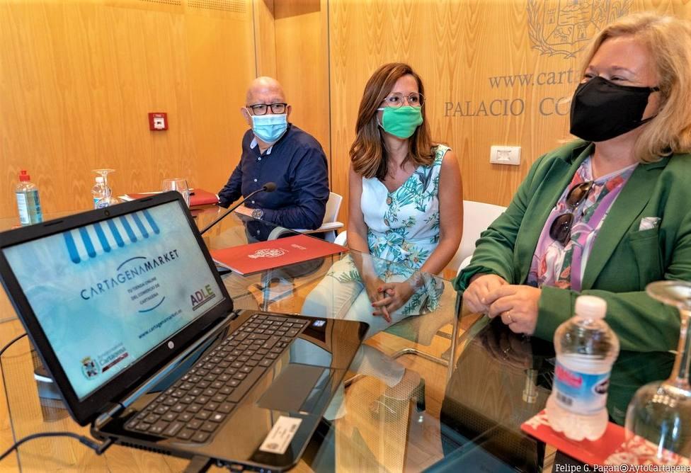 Cartagena lanza su propia plataforma de comercio online