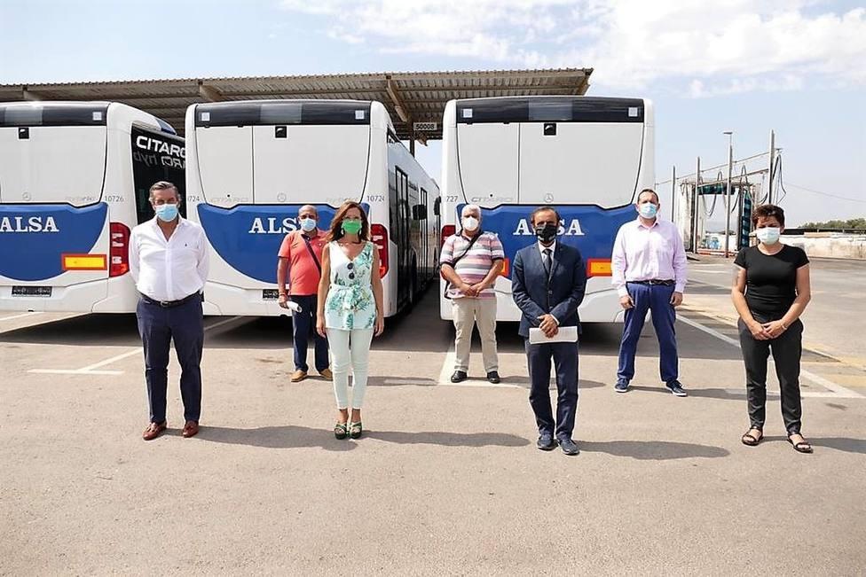 Operativos todos los servicios de los autobuses urbanos de Cartagena
