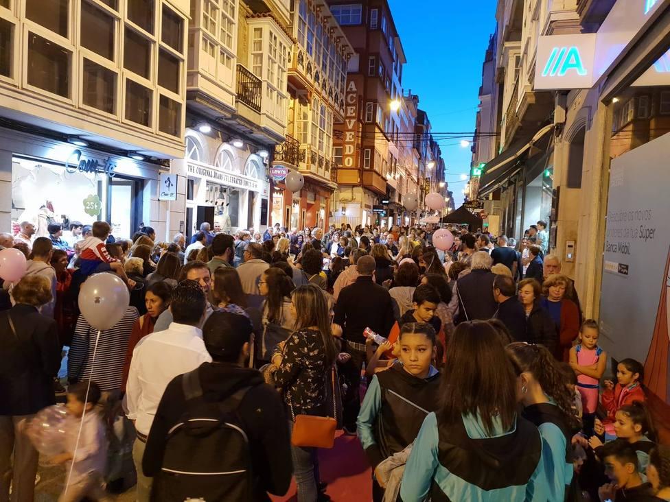 Foto de archivo de una edición pasada de la Fashión Night - FOTO: Centro Comercial Aberto Ferrol-A Magdalena