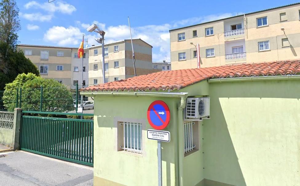 Cuartel de la Guardia Civil en Santiago