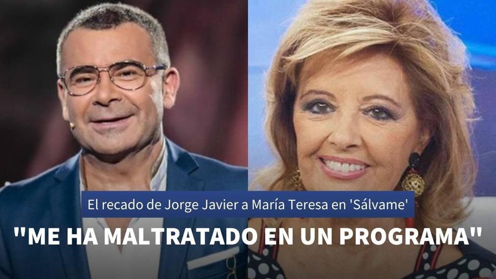 El recado de Jorge Javier Vázquez a María Teresa Campos tras su última entrevista en Sálvame Deluxe