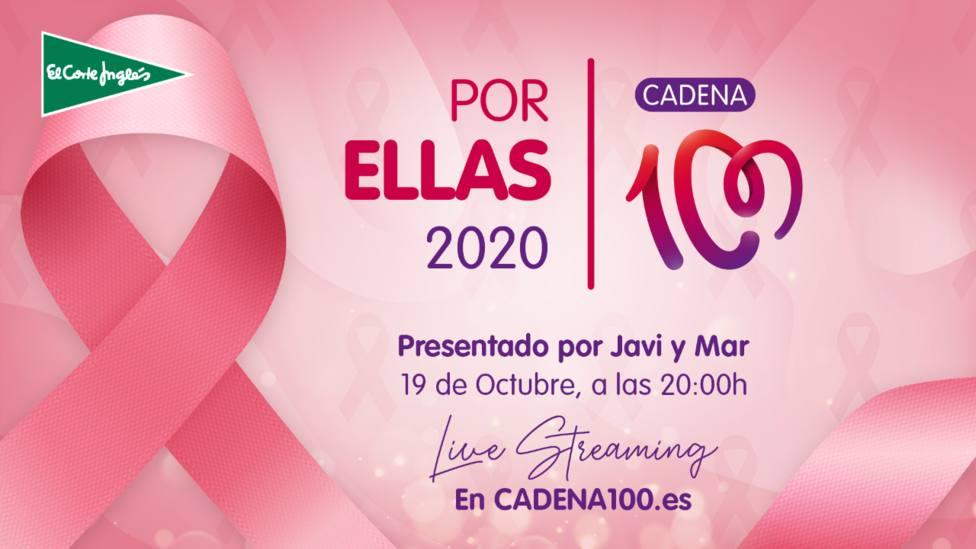 CADENA 100 celebra el Festival online Por Ellas 2020 con los Nº 1 de la música