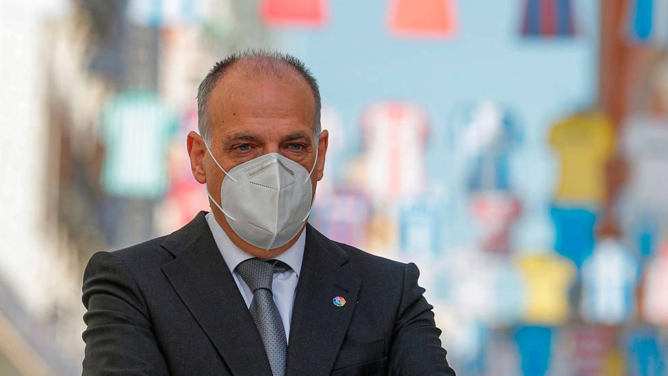 Javier Tebas, presidente de LaLiga. EFE
