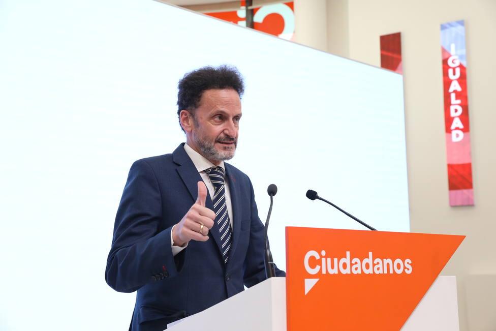 Ciudadanos dice que la armonización fiscal debe salir de un acuerdo entre las autonomías, no de un chantaje