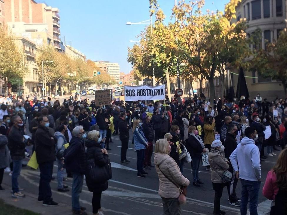 La hostelería catalana pide acciones más precisas por la pandemia que permitan ganar movilidad