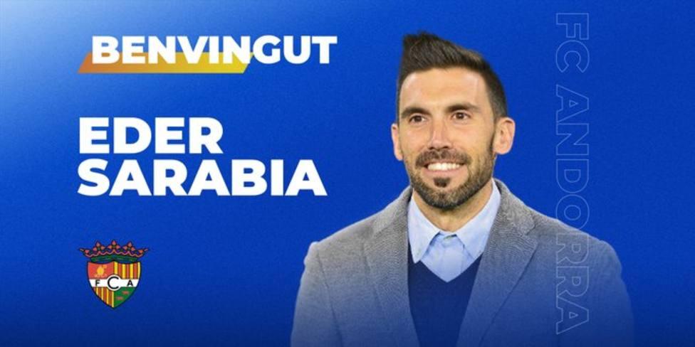 Eder Sarabia, nuevo entrenador del FC Andorra de Piqué