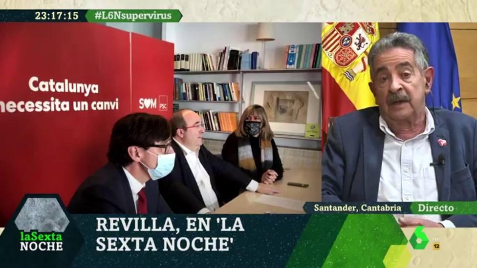Revilla frena a Iñaki López en LaSexta Noche por sus claras intenciones con la entrevista: Quiero acabar