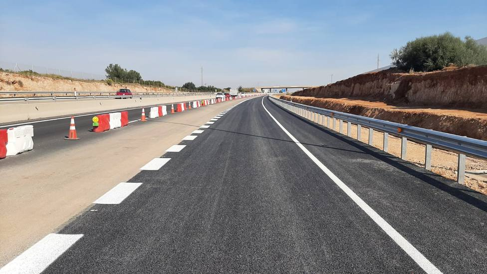 Obras Públicas mejora la seguridad del enlace de la CV-10 con la CV-20 en el término municipal de Onda