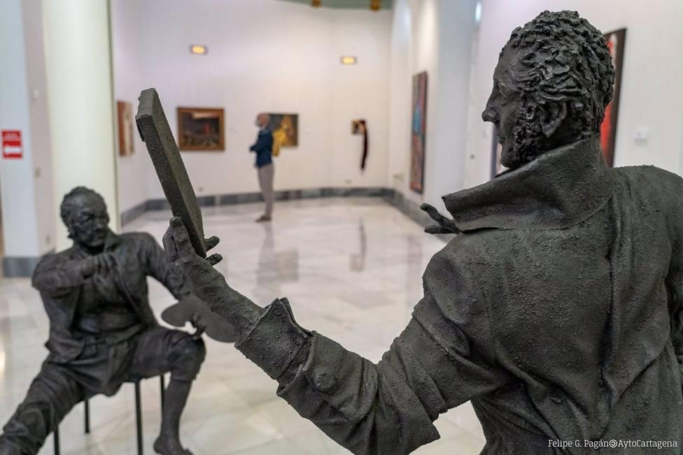 Un total de 52 artistas homenajean a Isidoro Máiquez en la colectiva Máiquez, el sueño y la sombra