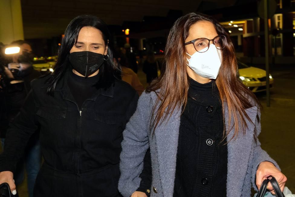 Nuria Fergo y Rosa Lopez llegan a Madrid