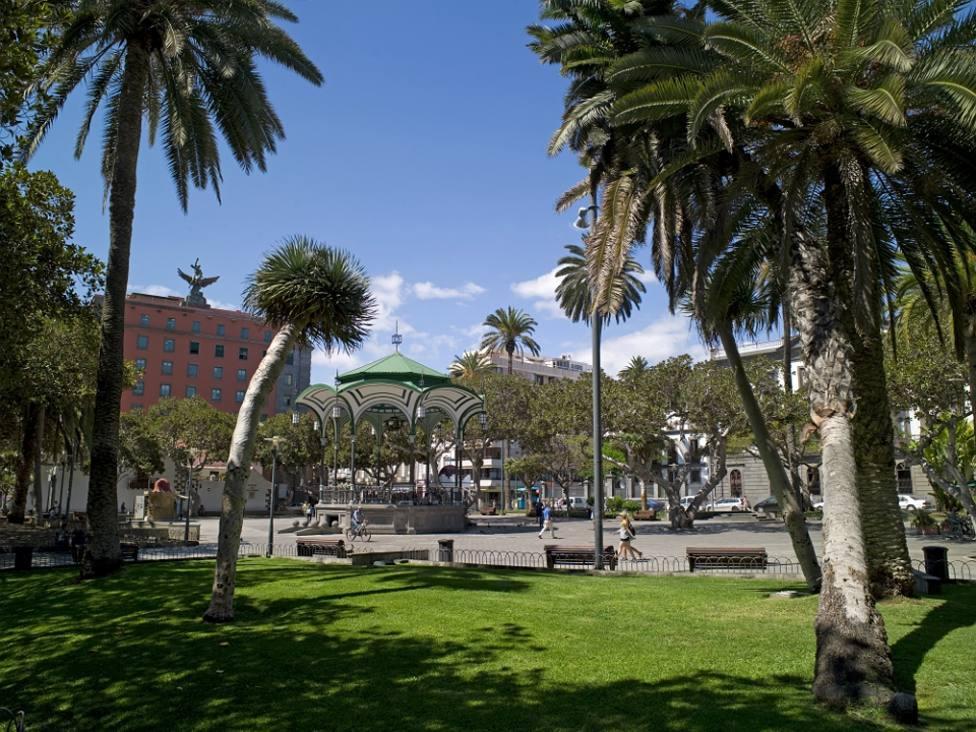 Parque San Telmo en Las Palmas de Gran Canaria