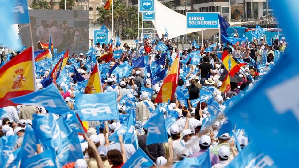 Mítin del Partido Popular. Foto: PP (Archivo)