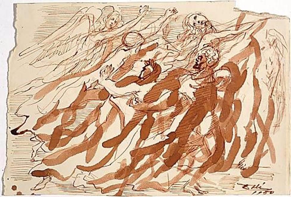 La Fundación Dalí conmemorará los 700 años de la muerte de Dante con una muestra