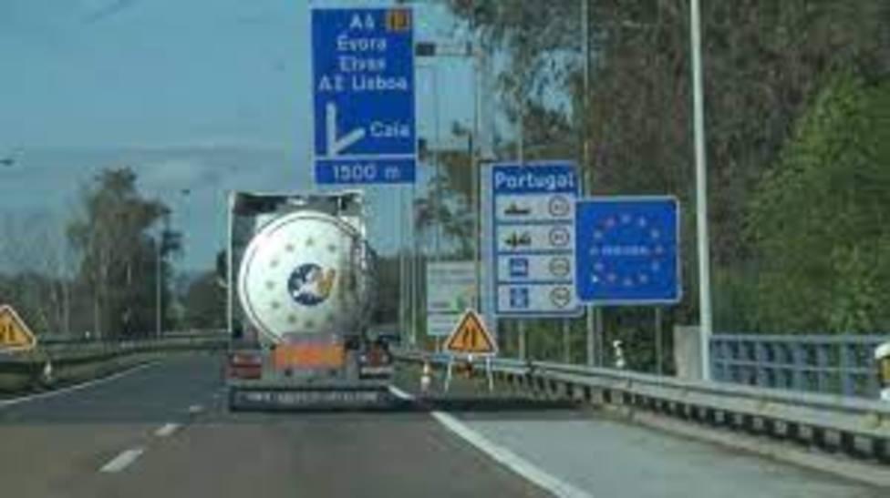 Frontera entre España y Portugal en Extremadura. Foto: EuropaPress
