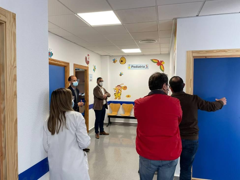 Lorca invierte 43.717 euros en el acondicionamiento y remodelación del consultorio de Almendricos