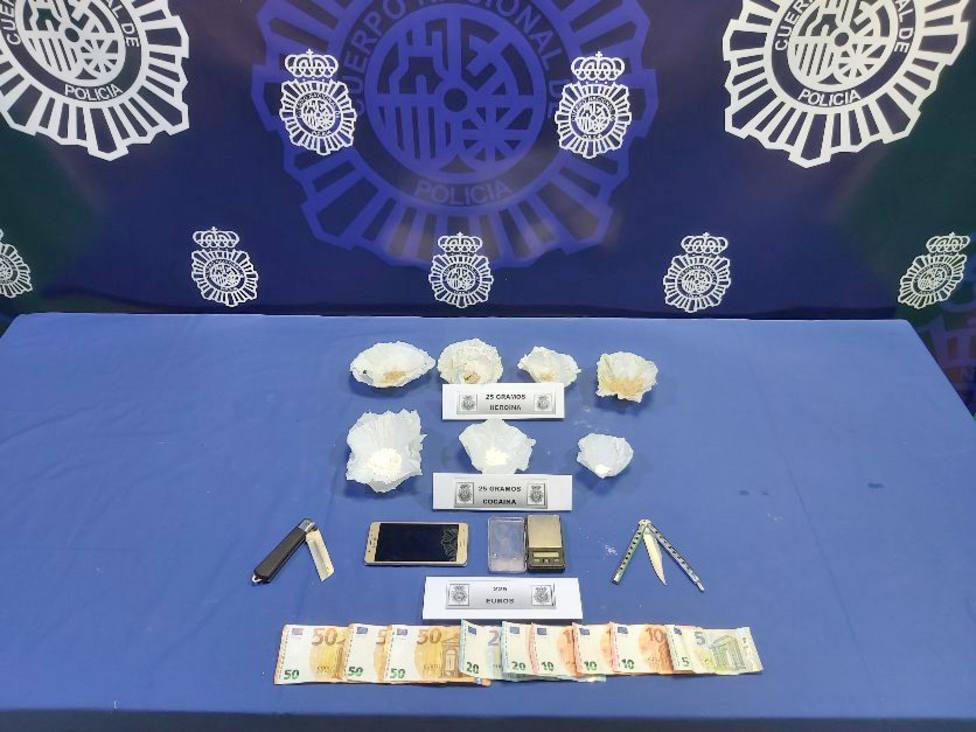 Desarticulado un punto de venta de droga en Valladolid