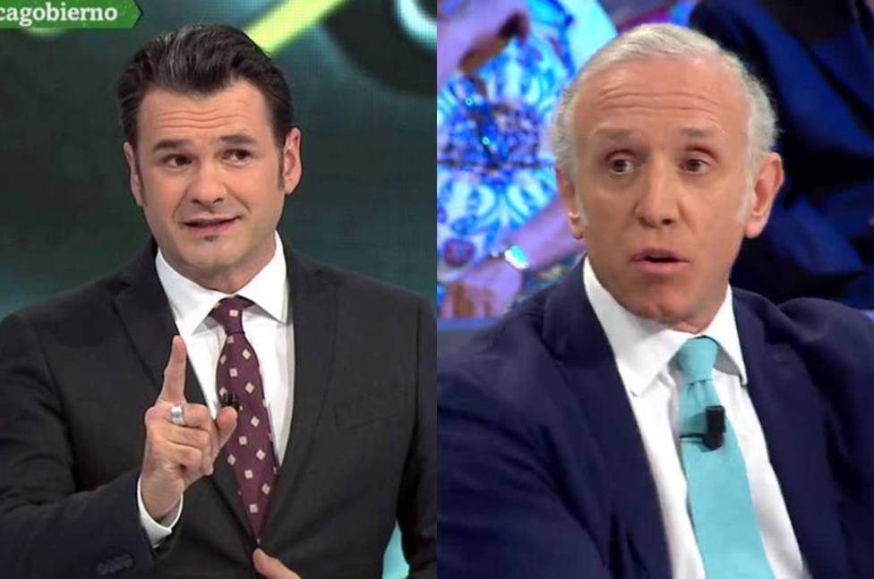"""El momento de tensión entre Iñaki López y Eduardo Inda en La Sexta Noche: """"No te olvides"""""""