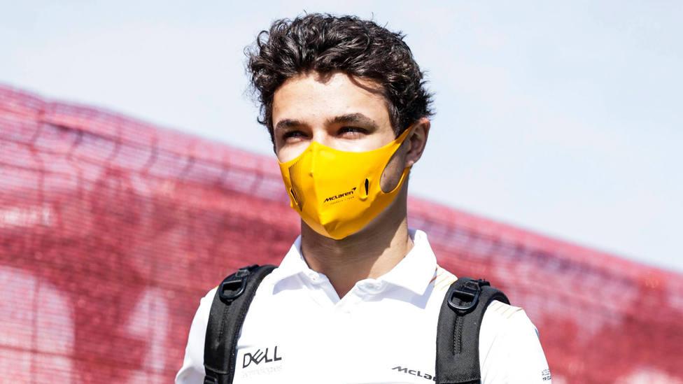 Lando Norris, pilotos de McLaren. CORDONPRESS